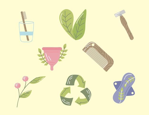 Wiederverwendbare hygieneartikel