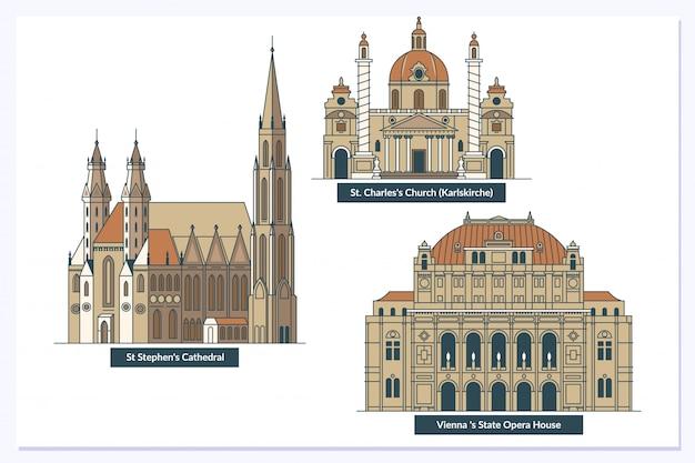 Wiener wahrzeichen und denkmäler