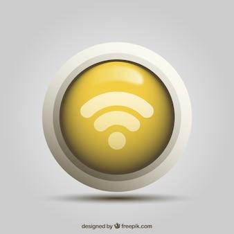 Wifi-taste in realistischem design