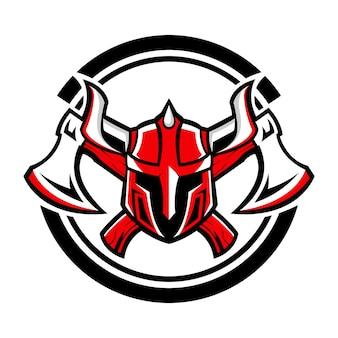 Wikinger axt logo design