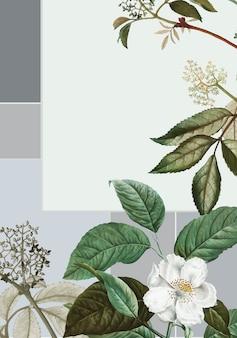 Wilder rosenrahmen