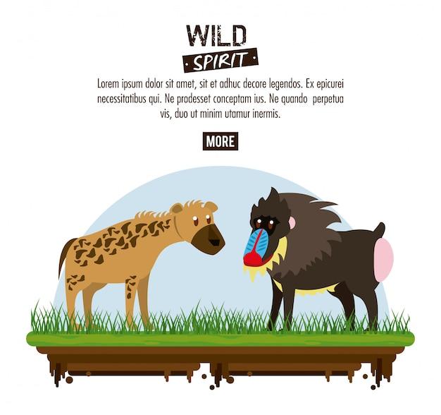 Wildgeist tiere