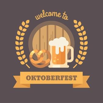 Willkommen auf dem oktoberfest