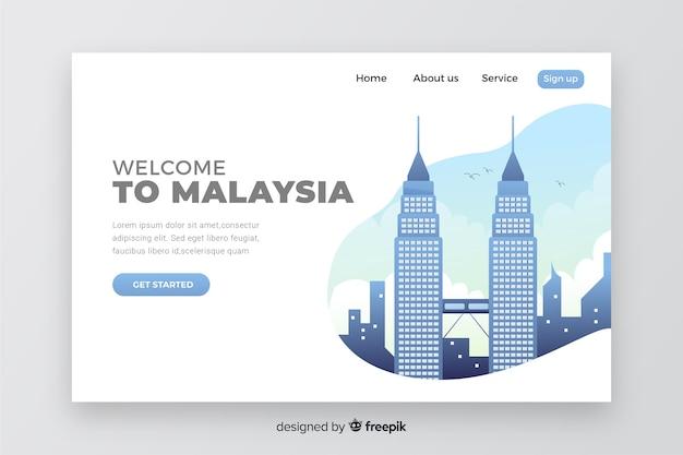 Willkommen auf der malaysia landing page