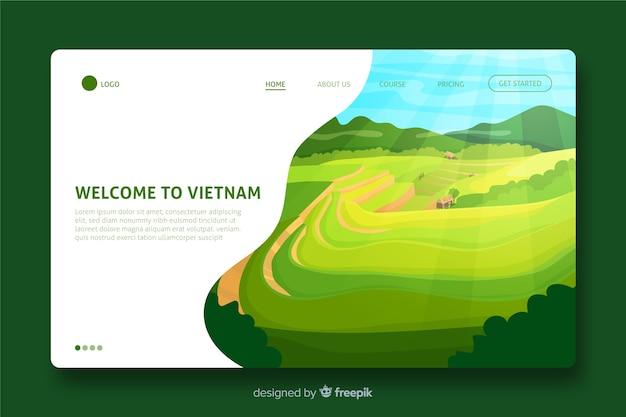 Willkommen auf der vietnam landing page