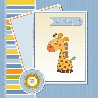 Willkommen babykarte