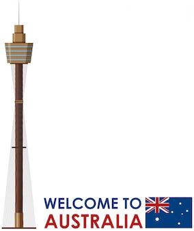 Willkommen in australien vorlage