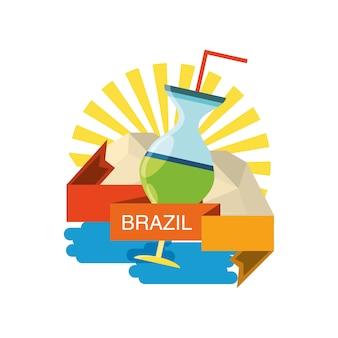 Willkommen in brasilien design