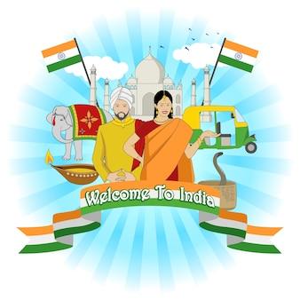 Willkommen in indien
