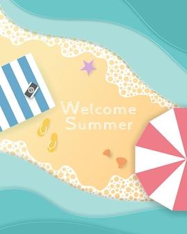 Willkommen sommerstrand