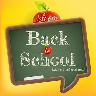 Willkommen zurück in der schule.