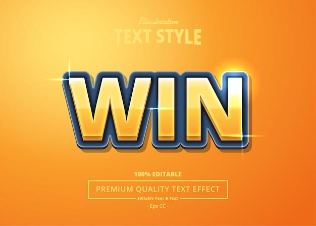 Win illustrator-texteffekt