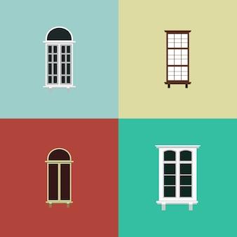 Windows-gebäude