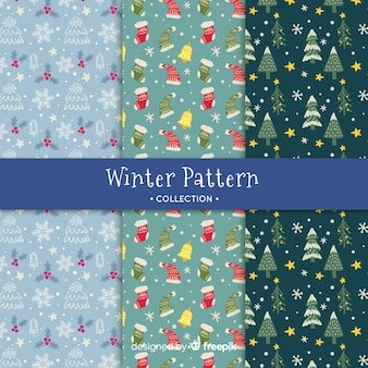 Winter-muster-kollektion
