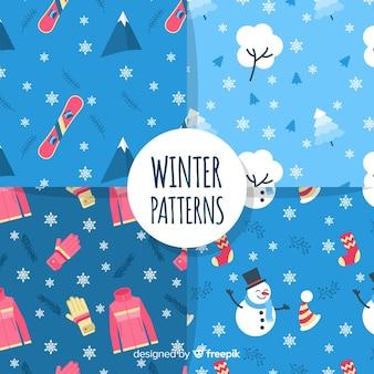 Winter-muster-kollektion