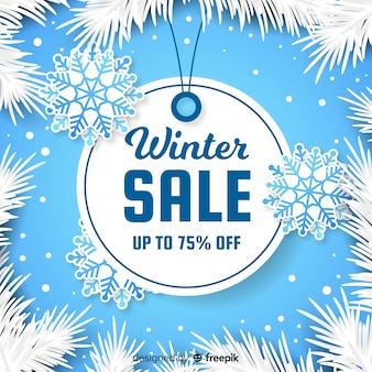 Winter Sale Hintergrund