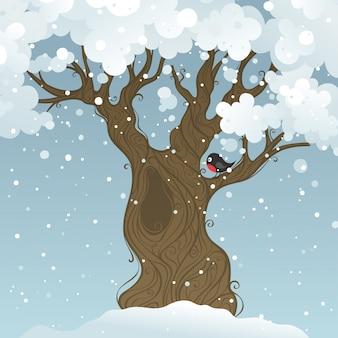 Winterbaumillustration
