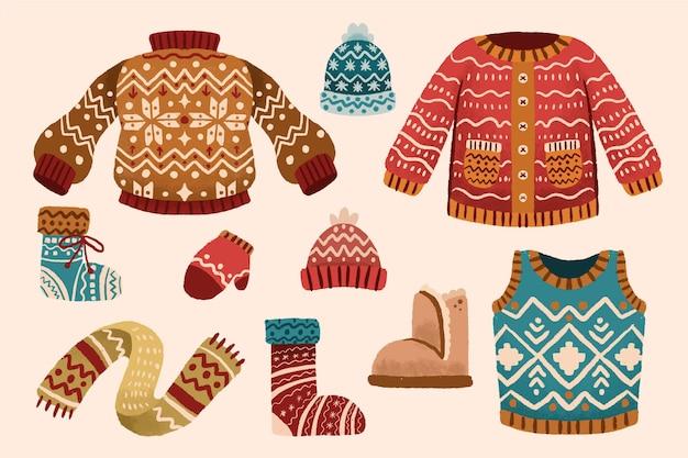 Winterkleidung und das nötigste