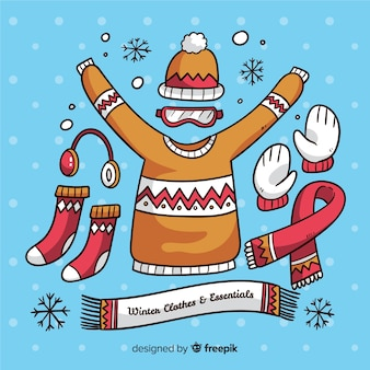 Winterkleidung und essentials