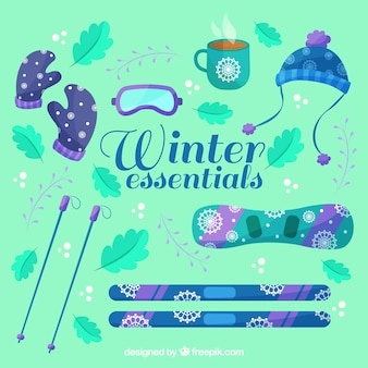 Winterkleidung und notwendigkeiten