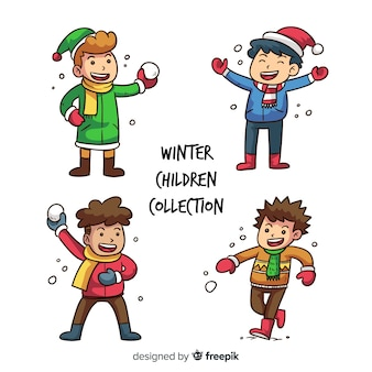 Winterkollektion für kinder