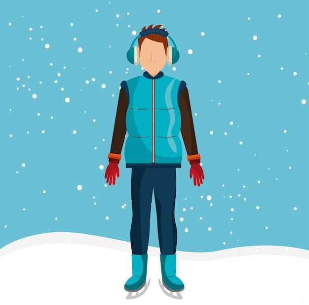 Wintermode und accessoires