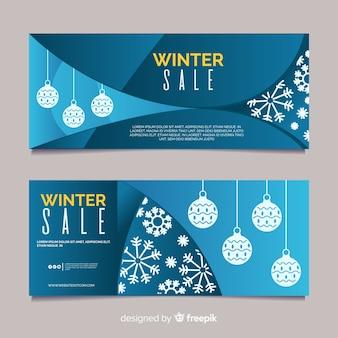 Winterschlussverkauf banner