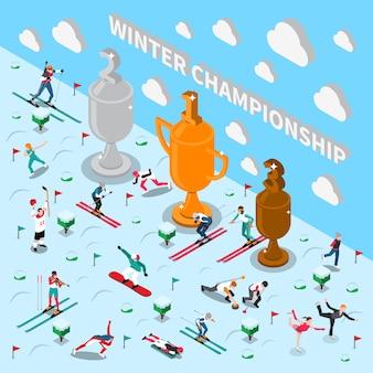 Winterspiele-meisterschaft