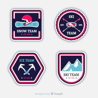 Wintersport-abzeichen-sammlung
