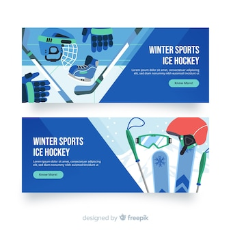 Wintersport-banner