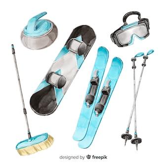 Wintersport eingestellt