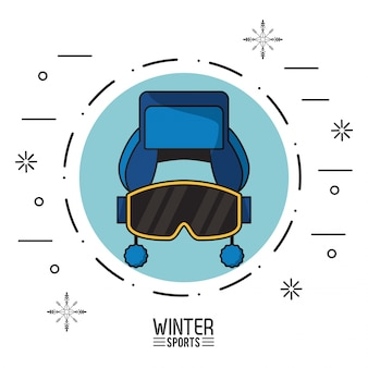 Wintersport illustration