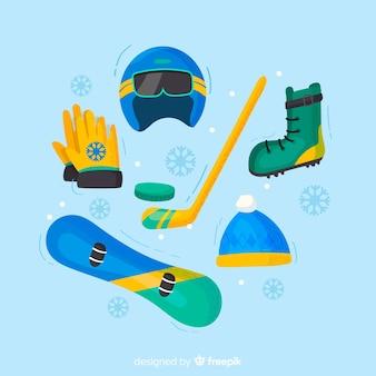 Wintersportausrüstung