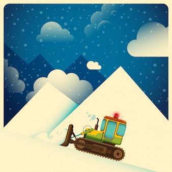 Winterzeit illustration