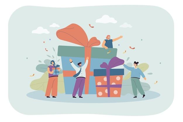 Winziger arbeiter erhält besondere belohnung