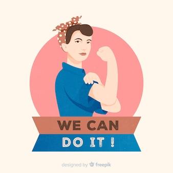 Wir können es schaffen! hintergrund