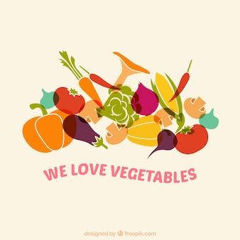 Wir lieben gemüse