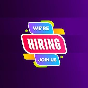 Wir suchen mitarbeiter für uns