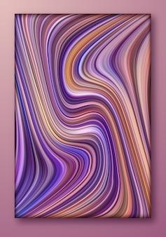 Wirbel der flüssigen marmorbeschaffenheit oder der fließenden kunst für designhintergrund