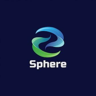 Wirbelbuchstabe s logo