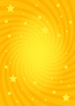 Wirbelnder radialsternhintergrund