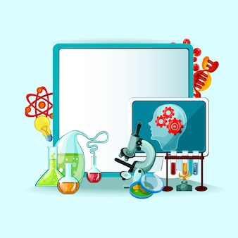Wissenschaft konzept illustration