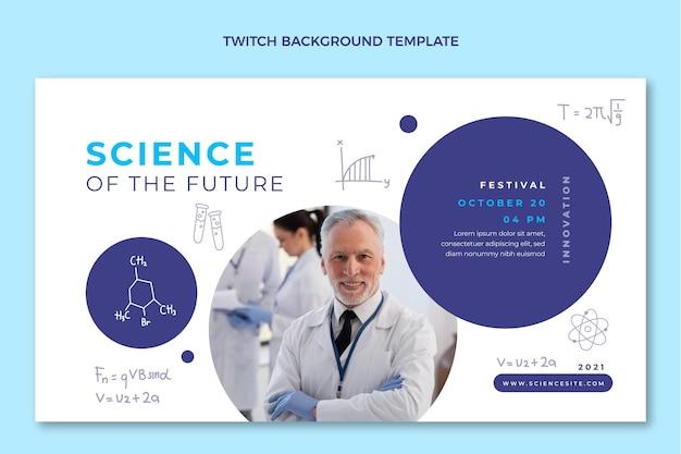 Wissenschaft zuckender hintergrund