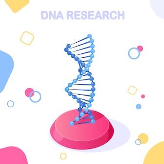 Wissenschaftliches biotechnologie-konzept