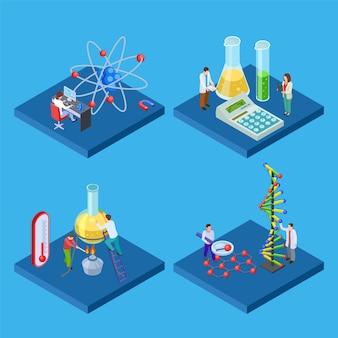 Wissenschaftliches chemisches labor