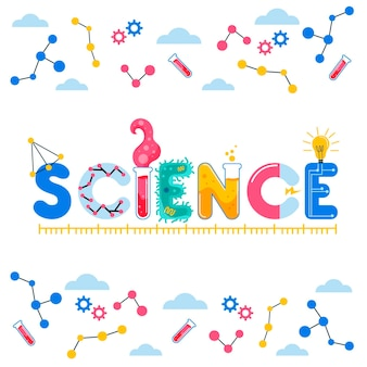 Wissenschaftswortkonzept