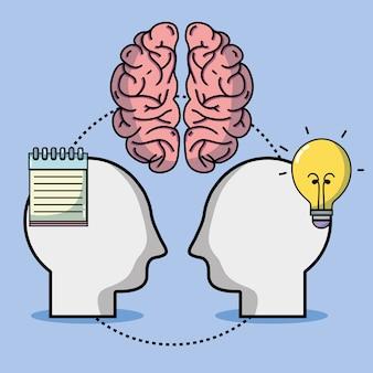 Wissenstraining mit kreativem werkzeugdesign