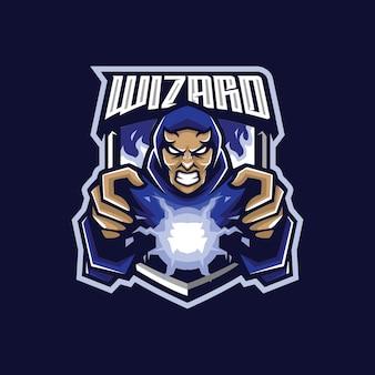 Wizard e sport logo