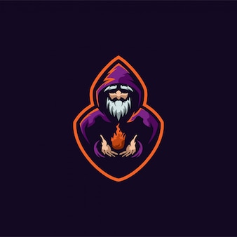 Wizard-logo einsatzbereit