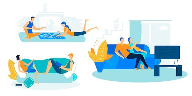Wochenend-freizeit zu hause, freizeit